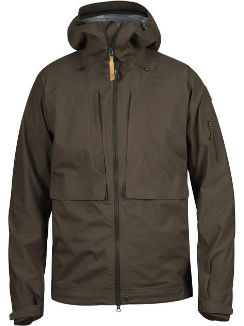 Fjällräven Lappland Eco Shell Jacket Men Dark Olive